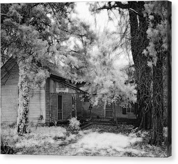 Abandoned House Canvas Print by Fred Baird