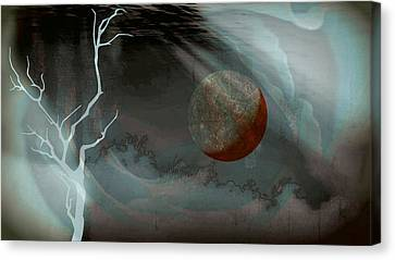 Abandoned In A Dying World Canvas Print