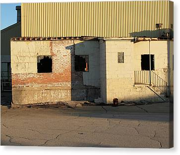 Abandoned Industrial Site #1 Canvas Print by Scott Kingery