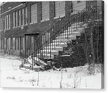 Abandoned Industrial Site #2 Canvas Print by Scott Kingery