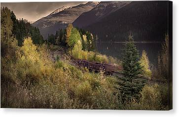 Canvas Print featuring the photograph Abandoned  by John Poon