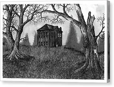 Abandoned? Canvas Print