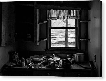 Abandoned Kitchen Canvas Print
