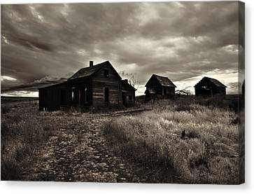 Abandoned Canvas Print by Mike  Dawson