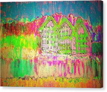 Abandoned Houses Canvas Print - Abandoned by Ninie AG
