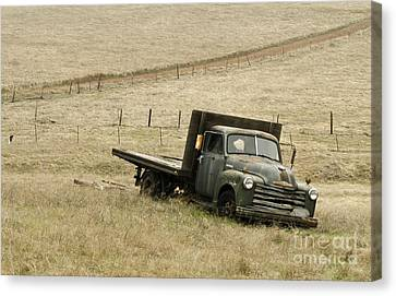 Abandoned Canvas Print by Norman Andrus