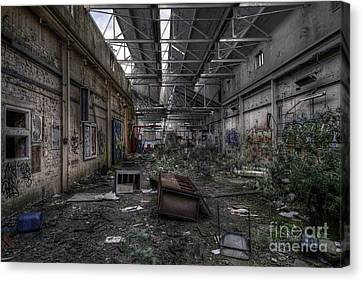 Abandoned Place Canvas Print by Svetlana Sewell