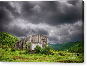 Abandoned Site Canvas Print