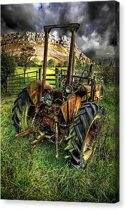 Abandoned Tractor Canvas Print