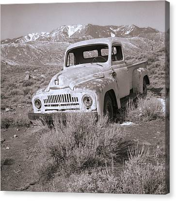 Abandoned Truck Canvas Print by Janeen Wassink Searles