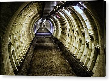 Abandoned Tunnel Canvas Print by Martin Newman