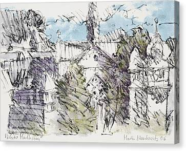 Kirche Canvas Print - Abbaye Maulbronn,cistercian Heritage by Martin Stankewitz