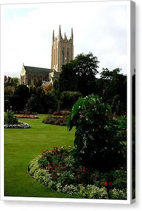 Abbey Gardens Canvas Print by Frank Wickham