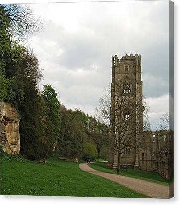 Abbot Huby's Tower 2 Canvas Print by Steve Watson