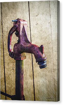 Abbott's Mill Water Spigot Canvas Print