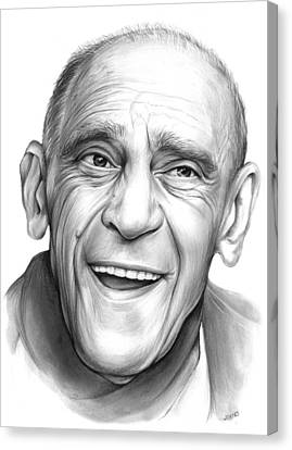 Abe Vigota Canvas Print by Greg Joens