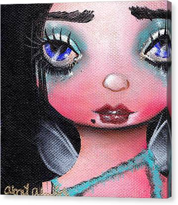 Abi  Canvas Print by  Abril Andrade Griffith