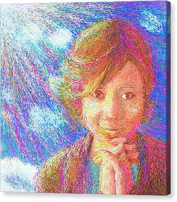 Abiding In Faith Canvas Print