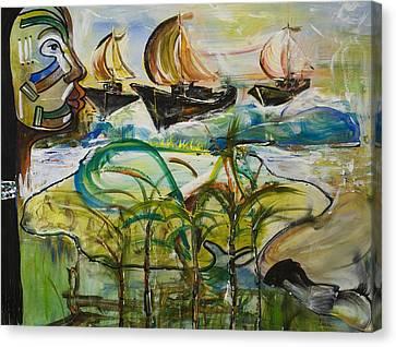Aborigines Canvas Print