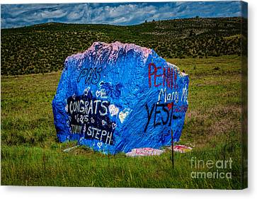 About Love Canvas Print by Jon Burch Photography