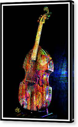About That Bass Canvas Print by Lynda Payton