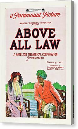 Above All Law Canvas Print by Paramount