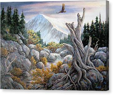 Above It All Canvas Print by Don Trout