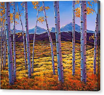 Taos Canvas Print - Above It All by Johnathan Harris