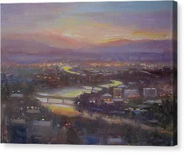 Above Missoula Canvas Print