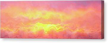 Above The Clouds - Abstract Art Canvas Print by Jaison Cianelli