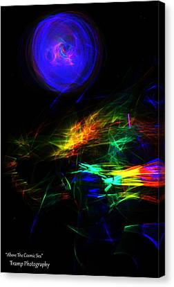 Above The Cosmic Sea Canvas Print