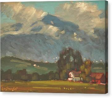 Above Toporowski Farm Canvas Print