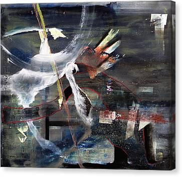 Abracadabra Canvas Print by Antonio Ortiz
