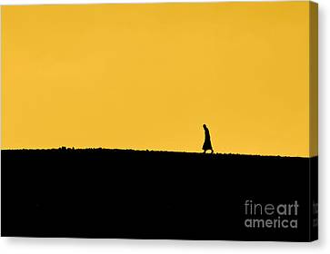 Abraham's Journey Canvas Print