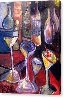 Absent One Whiskey  Canvas Print by Jon Baldwin  Art