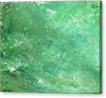 Licorice Canvas Print - Absinthe Fairy Vapor by Buffy Heslin