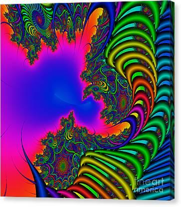Abstact 04 A Canvas Print by Rolf Bertram