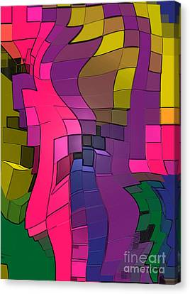 251 Canvas Print - Abstract # 251 by Terry James