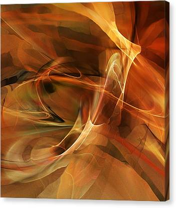 Abstract 060812a Canvas Print by David Lane