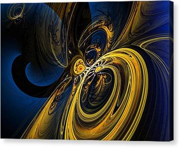 Abstract 060910 Canvas Print by David Lane