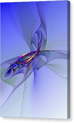 Abstract 110210 Canvas Print by David Lane
