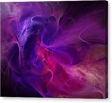Abstract 111310b Canvas Print by David Lane