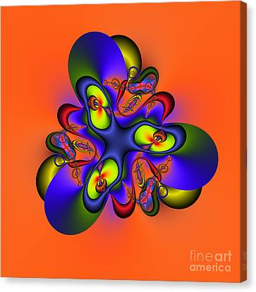 Abstract 127a Canvas Print by Rolf Bertram