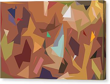 Abstract 16 Canvas Print by Art Spectrum