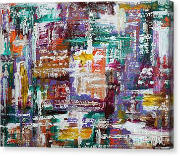 Abstract 193 Canvas Print by Patrick J Murphy
