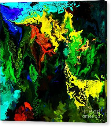 Abstract 2-23-09 Canvas Print by David Lane