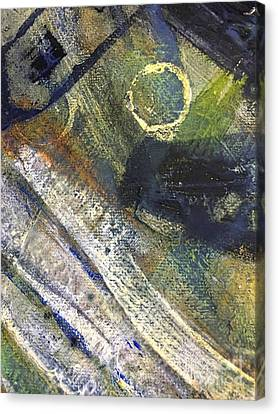 Abstract 22.2 Canvas Print by Shelley Graham Turner