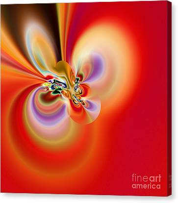Abstract 239 Canvas Print by Rolf Bertram