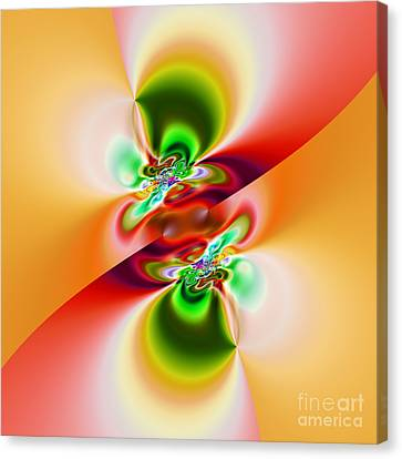 Abstract 241 Canvas Print by Rolf Bertram
