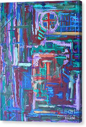 Abstract 27 Canvas Print by Patrick J Murphy
